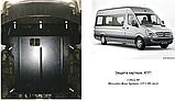 Защита картера двигателя Mercedes-Benz Sprinter (Мерседес-Бенц Спринтер) W906 2006-, фото 7
