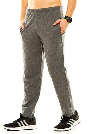 Мужские спортивные штаны темно-серые, фото 2