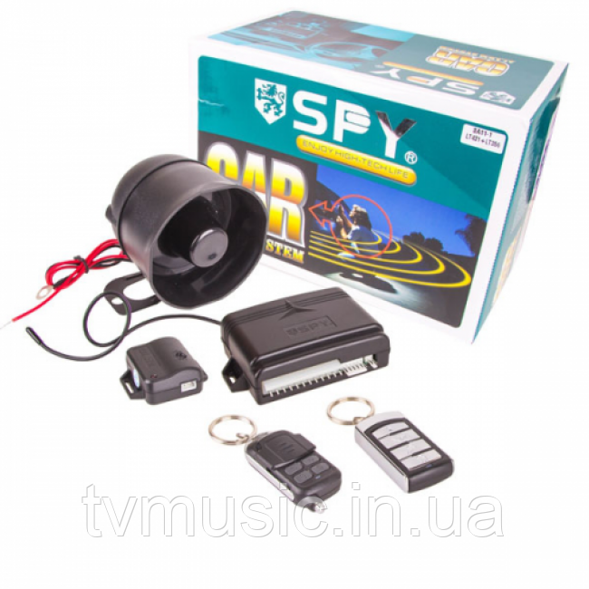 Автосигнализация SPY SA11/LT431+LT356