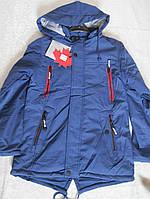 Демисезонная подростковая куртка для мальчика,рост 134-158см