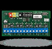 JA-118N - 8 канальный выходной модуль для адресной шины