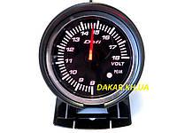 Тюнинговый автомобильный прибор DEFI 60251 v2 вольтметр 60мм, фото 1