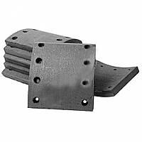 41016/3+1  Барабанные тормозные накладки с заклепками