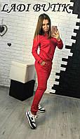 Женский модный костюм с треугольным вырезом (2 цвета)