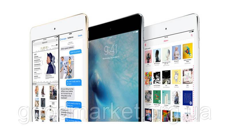 Планшет Apple iPad mini 4 Wi-Fi 16GB Gold (MK6L2), фото 2