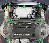 Защита картера двигателя Mercedes-Benz Sprinter (Мерседес-Бенц Спринтер) W906 2006-, фото 3