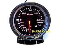 Тюнинговый автомобильный прибор DEFI 60257 v2 давление турбины 60мм, фото 1
