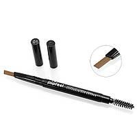 Высококачественный двухсторонний карандаш для бровей с щеточкой, мягкая текстура (покраска/коррекция бровей)