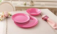 Столовый сервиз на 18 предметов Luminarc Arty Pink