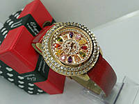 Женские часы с камнями Swarovski,№103S