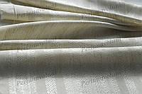 Ткань льняная с вышивкой Елегия ТДК-122 1/1 столовый текстиль,ткань с орнаментом,декоративная ткань