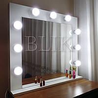 Гримерное (макияжное) зеркало Ева (80х70)