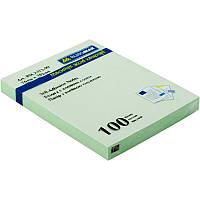 Папір для нотаток з клейкою смужкою BUROMAX 2313-99 76Х102мм 100 аркушів Асорті, фото 1