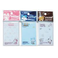 Папір для нотаток з клейкою смужкою DELI 96514 50Х75мм дитячий, Yocco