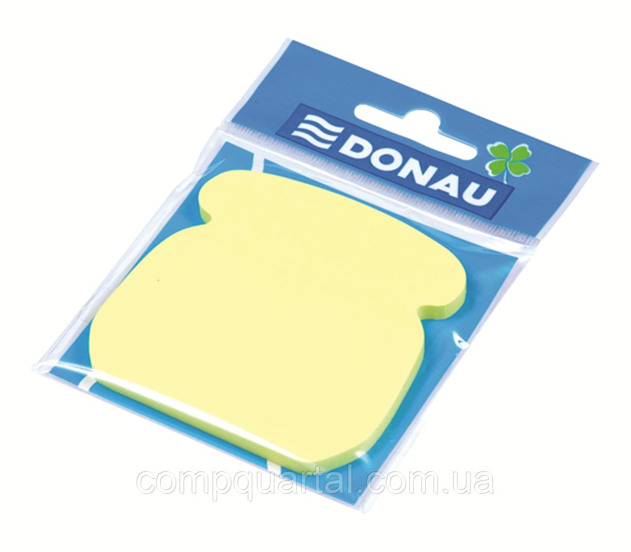 """Папір для нотаток з клейкою смужкою DONAU 7561001 """"Телефон"""" 50 аркушів Неон"""