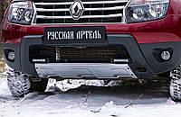 Накладка переднего бампера (аэродинамический обвес) Renault Duster 2010-2014 г.в. Рено Дастер