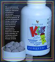 Органические Детские Витамины, Форевер, США, Forever Kids, 120 табл.
