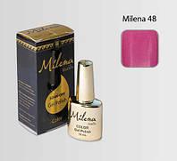 Гель-лак для ногтей «Milena» 48 Арго (бескислотный, гипоаллергенный, высоко пигментированный состав, не течет)