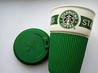 Термо-чашка tarbucks с силиконовой крышкой