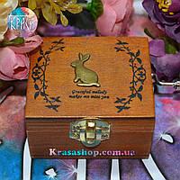 Музыкальная шкатулка-шарманка Кролик