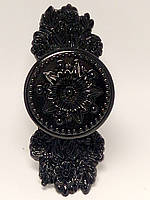 Ручка-скрутка металл черная