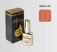 Гель-лак для ногтей «Milena» 56 персиковый Арго (бескислотный, гипоаллергенный, не течет)