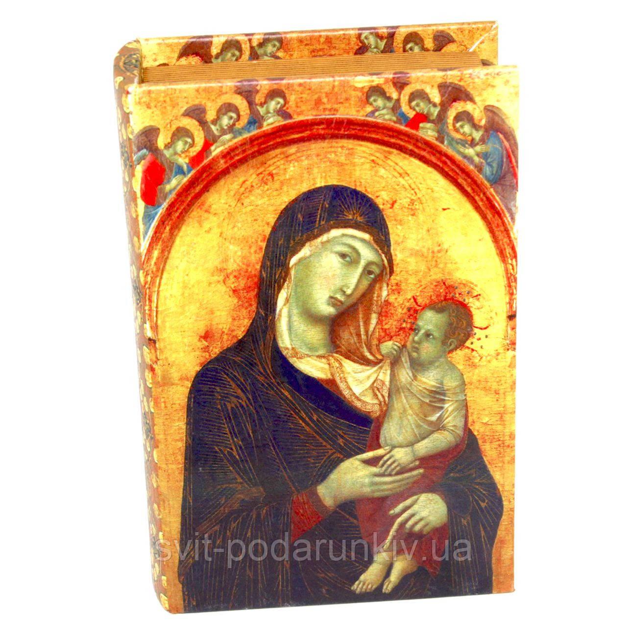 Шкатулка Книга Дева Мария
