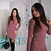 """Женское теплое платье-гольф """"Лилу"""", 3 цвета. Аф-2-0217, фото 2"""