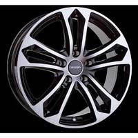 Carmani 5 6,5X15 5X112 ET44 DIA67 black polish