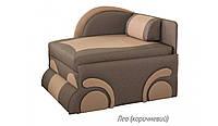 Детский диван Машинка (Лео коричневый)