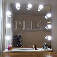 Гримерное (макияжное) зеркало Аврора (80х80)