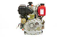 Двигун дизельний WEIMA WM178FES (R) (вал ШПОНКА, 1800об/хв, для WM610), дизель 6.0 л. с., фото 3