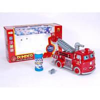 Пожарная машина В838B Тачки  с пузырями мыльными