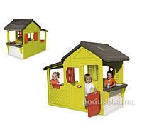 Дом садовый с кухней-барбекю и звонком Smoby 310300