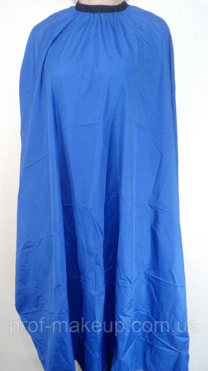 Пеньюар для стрижки ЭСТЕТ средний,  голубой.