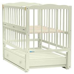 Кроватка Baby Sleep - Aurora  Elfenbein (слоновая кость)