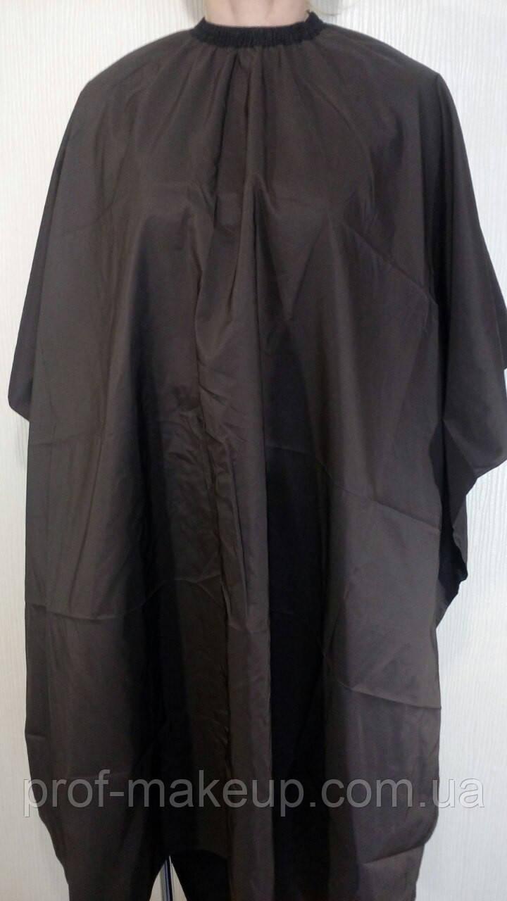 Пеньюар для стрижки ЭСТЕТ средний,  коричневый.