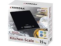 Весы кухонные 15кг Aurora 4302