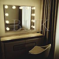 Гримерное (макияжное) зеркало Алина (100х80)