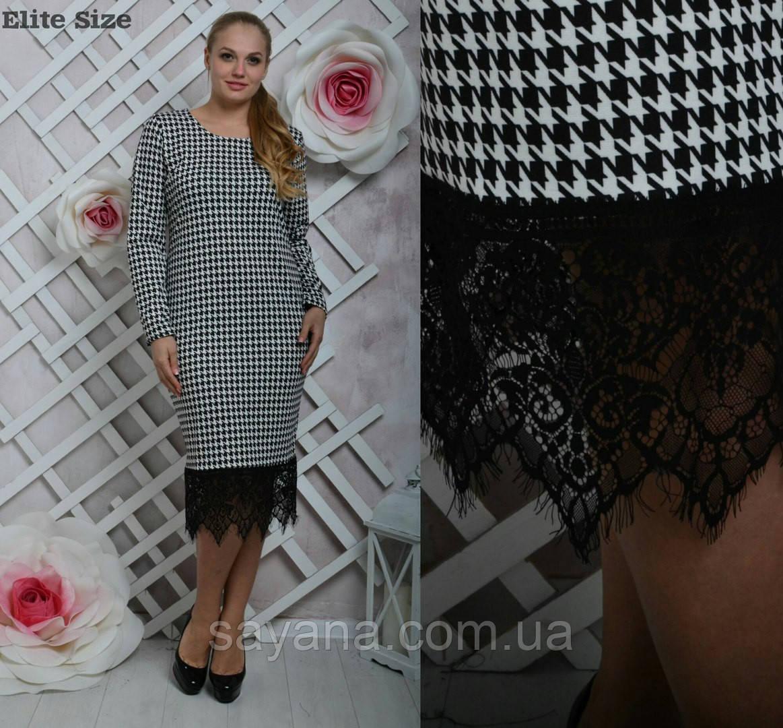 """Женское платье """"Моника"""", 2 цвета, размеры 48-56. Но-11-0217"""
