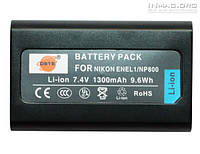 Аккумулятор для фотоаппарата Nikon EN-EL1, 1300 mAh.