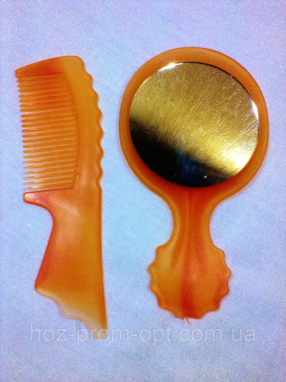 Набор : расчёска+зеркало