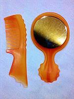Набор : расчёска+зеркало, фото 1