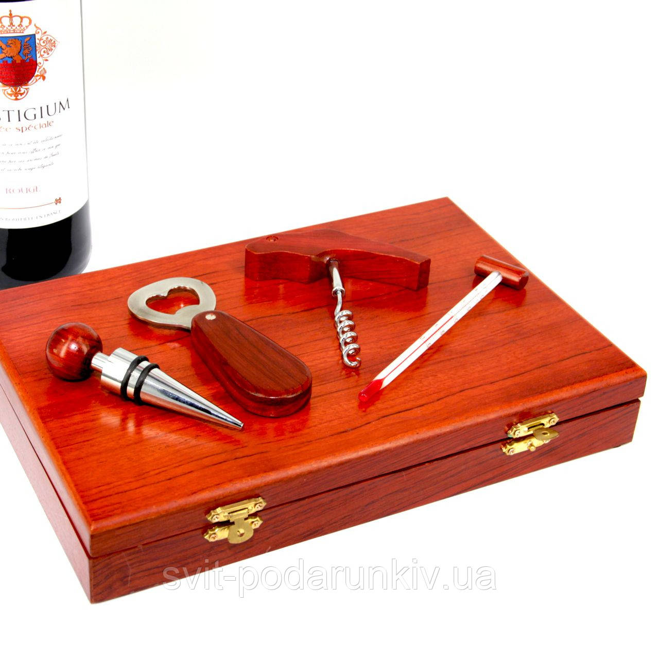 Набор аксессуаров для вина на 4 предмета
