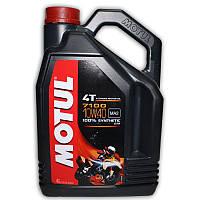 СКИДКА 10%! Оригинальное моторное Motul 7100 4T 10W40 4L SAE 100% Synthetic.В наличии. Отправка без предоплаты