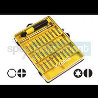 Набор насадок прецизионных с держателем TOPEX 39D555