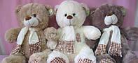 Мягкая игрушка медведь 24см Teddi Темно-серый