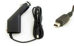 Автомобильное зарядное для GPS и планшетов miniUSB 1,5A