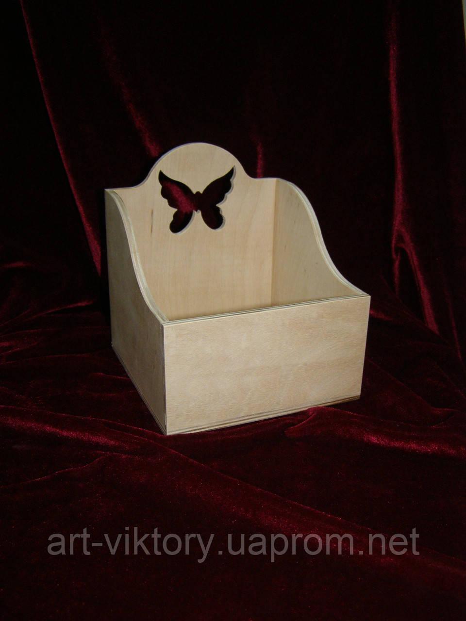 Короб для специй с бабочкой (14 х 14 х 15,5 см)