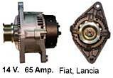 Генератор Fiat Barchetta, Brava, Bravo, Marea, Punto, Strada, Lancia Y 1.4, фото 2